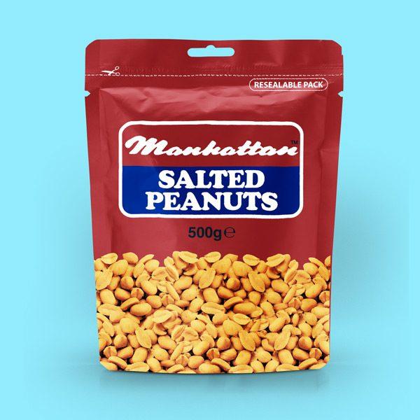 Manhattan 500g Salted Peanuts