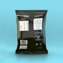 Manhattan Cheese and Onion Crisps - 12 x 150g packets