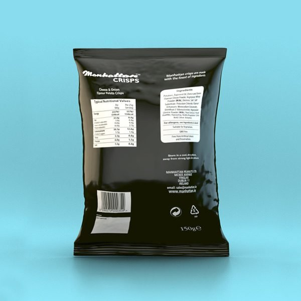 Cheese and Onion - 12 x 150g packets
