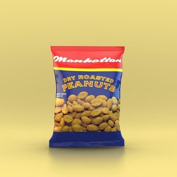 Manhattan 40g Dry Roasted Peanuts