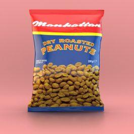 Manhattan 200g Dry Roasted Peanuts