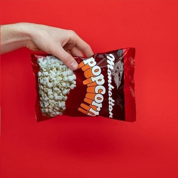 Manhattan Small Salted Popcorn - 60 x 15g packets