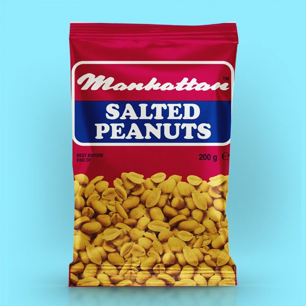 Manhattan 200g Salted Peanuts