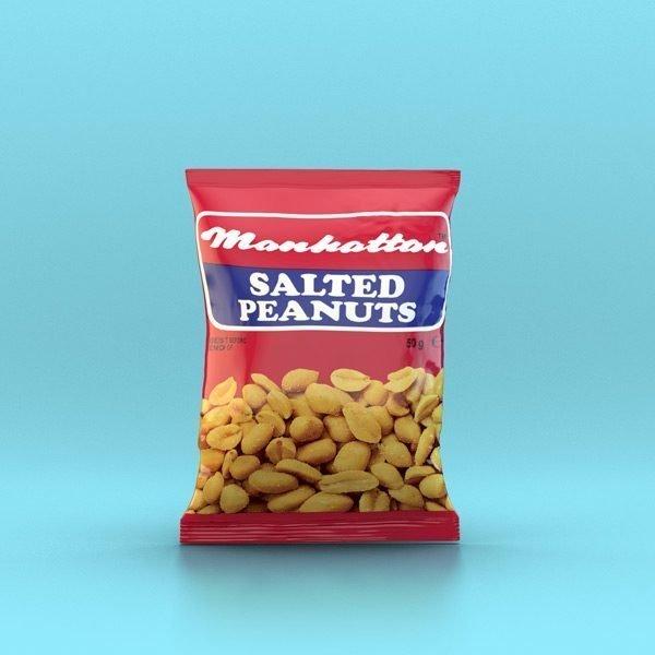 Manhattan 50g Salted Peanuts