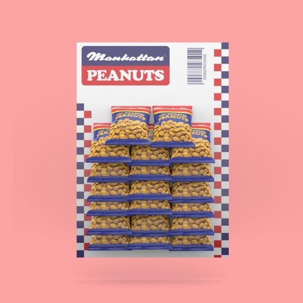 Manhattan Dry Roasted Peanuts 40g