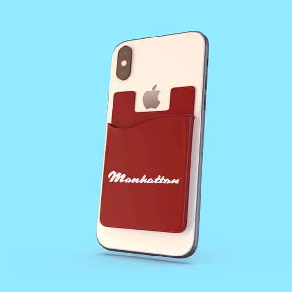 Bank Card Pocket for mobile phone