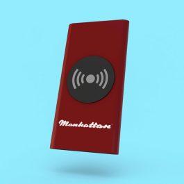 Wireless Aluminium Charging Power Bank 4000mAh