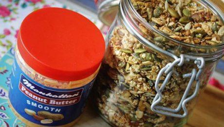 Granola and Peanut Butter Recipe