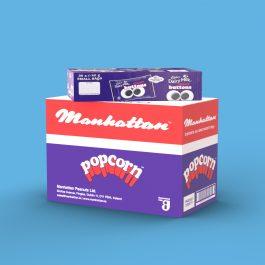 Manhattan Popcorn and Cadbury Dairy Milk Giant Buttons
