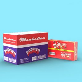 Combo Pack - Popcorn & Maltesers! A marriage made in Heaven!