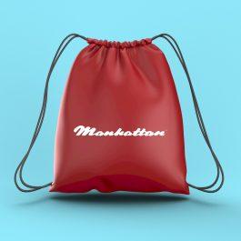 Manhattan Drawstring Bag