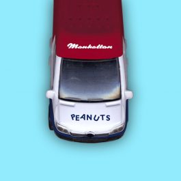 Manhattan Diecast Model Van